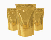 Gold Matt Pouches