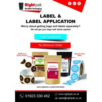 [Sample] Printed Label