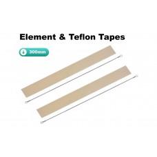 300mm Element and Teflon Strip For Impulse Heat Sealers x 2 Sets
