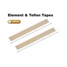 400mm Element and Teflon Strip For Impulse Heat Sealers x 2 Sets