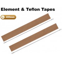 400mm Element and Teflon Strip For Impulse Heat Sealers x 2 Sets