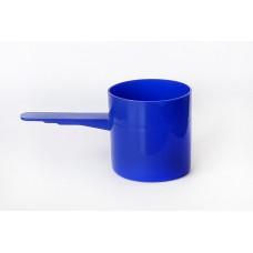 70ml Blue Plastic Scoop Pack of 100qty