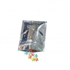 Glitter 3 Side Seal Pouches 75mm x 100mm
