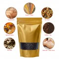 40g Window Gold Matt Stand Up Pouch/Bag with Zip Lock [SP1]