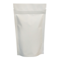 150g White Matt Stand Up Pouch/Bag with Zip Lock [SP3]