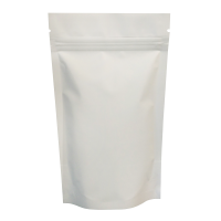 100g White Matt Stand Up Pouch/Bag with Zip Lock [SP9]