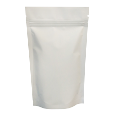 40g White Matt Stand Up Pouch/Bag with Zip Lock [SP1]