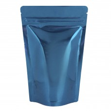 150g Blue Shiny Stand Up Pouch/Bag with Zip Lock [SP3]