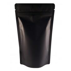 150g Black Matt Stand Up Pouch/Bag with Zip Lock [SP3]