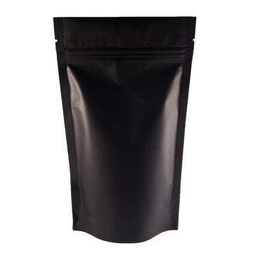 40g Black Matt Stand Up Pouch/Bag with Zip Lock [SP1]