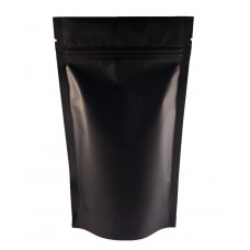 5kg Black Matt Stand Up Pouch/Bag with Zip Lock [SP8]