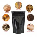 40g Black Shiny Stand Up Pouch/Bag with Zip Lock [SP1]