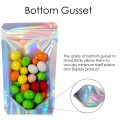 1kg Clear / Holographic Stand Up Pouch/Bag with Zip Lock [SP6]