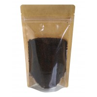 150g Kraft Paper One Side Clear Stand Up Pouch/Bag with Zip Lock [SP3]