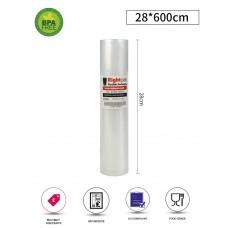 280mm x 6meter Embossed Vacuum Sealer Roll 90 Micron