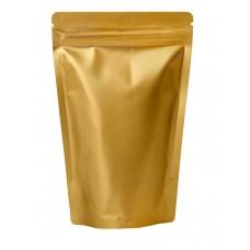500g Gold Matt Stand Up Pouch/Bag with Zip Lock [SP5]