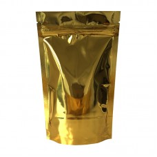 40g Gold Shiny Stand Up Pouch/Bag with Zip Lock [SP1]