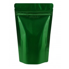 150g Green Shiny Stand Up Pouch/Bag with Zip Lock [SP3]
