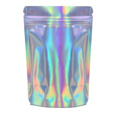 50g Holographic Stand Up Pouch/Bag with Zip Lock [WP1]