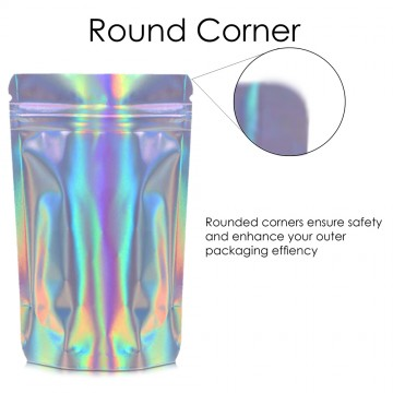 750g Holographic Stand Up Pouch/Bag with Zip Lock [SP11]