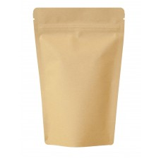 750g Kraft Paper Stand Up Pouch/Bag with Zip Lock [SP11]
