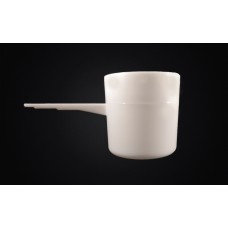 70ml White Plastic Scoop Pack of 100qty