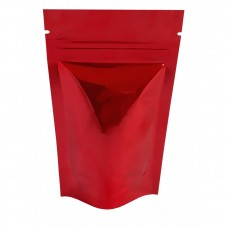 40g Red Shiny Stand Up Pouch/Bag with Zip Lock [SP1]