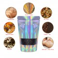1kg Window Holographic Stand Up Pouch/Bag with Zip Lock [SP6]