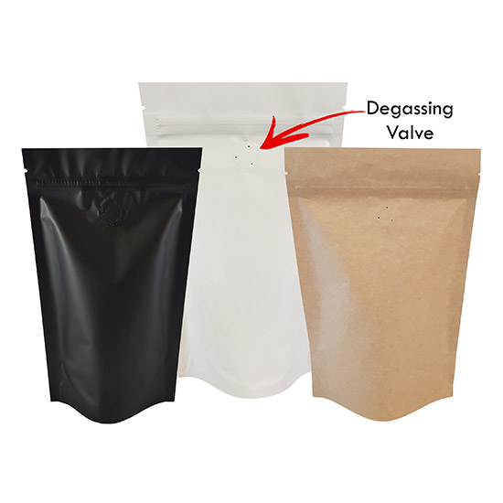 Coffee Valve Pouches